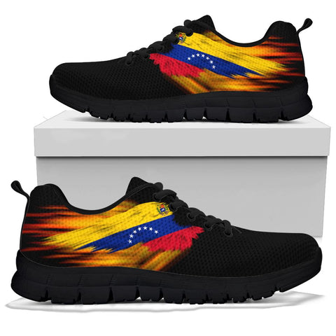 Venezuela Sneakers - Fire Wings and Flag | LOVE THE WORLD