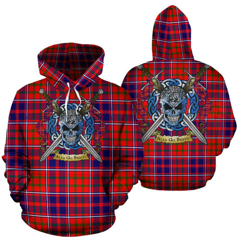 Image of Cameron of Lochiel Modern Tartan Hoodie Celtic Scottish Warrior A79 | Over 500 Tartans | Clothing | Apaprel
