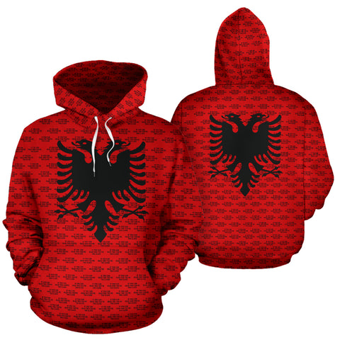 Albania Hoodie If You Can Read This You're Too Close A7