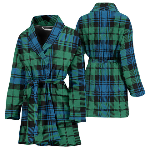 Campbell Ancient 01 Bathrobe - Women Tartan Plaid Bathrobe Universal Fit