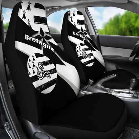 Brittany Celtic Car Seat Covers - Brittany Celtic Triskelion