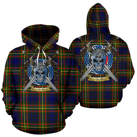 MacLellan Modern Tartan Hoodie Celtic Scottish Warrior A79 | Over 500 Tartans | Clothing | Apaprel