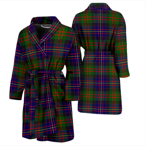 Cameron Of Erracht Modern Bathrobe - Men Tartan Plaid Bathrobe Universal Fit
