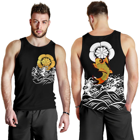 The Golden Koi Fish Tank Top A7