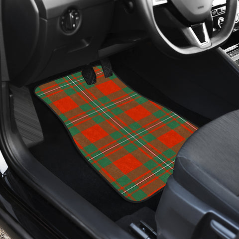 Macgregor Ancient Tartan Car Floor Mat 4 Pieces K7