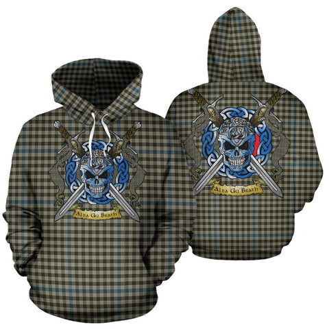 Haig Check Tartan Hoodie Celtic Scottish Warrior A79 | Over 500 Tartans | Clothing | Apaprel