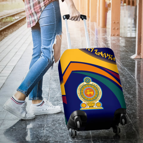 Image of Sri Lanka Coat Of Arms Luggage Covers