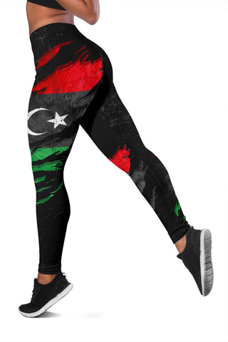 Image of Libya In Me Women's Leggings - Special Grunge Style A31