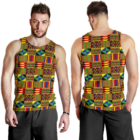 African Men's Tank Top Pattern
