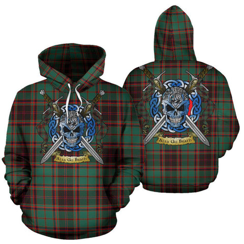 Buchan Ancient Tartan Hoodie Celtic Scottish Warrior A79 | Over 500 Tartans | Clothing | Apaprel