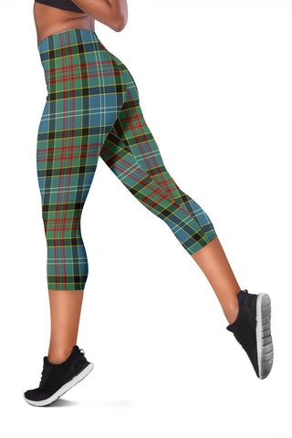 Paisley District Tartan Capris Leggings