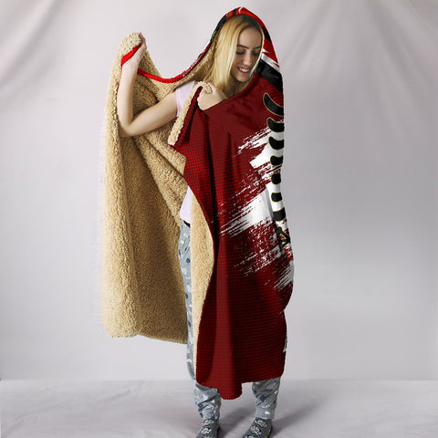 Albania Hooded Blanket - New Release A25