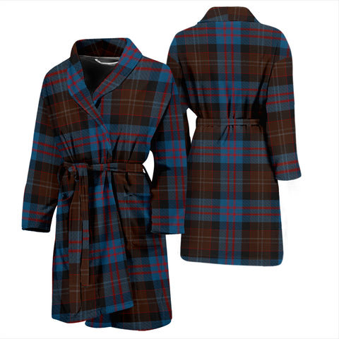 Applestone Tartan Men's Bathrobe - BN04