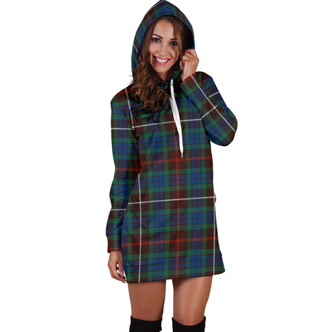 Image of Fraser Hunting Ancient Tartan Hoodie Dress HJ4 |Women's Clothing| 1sttheworld