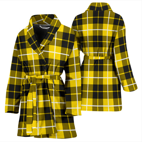 Barclay Dress Modern Bathrobe - Women Tartan Plaid Bathrobe Universal Fit