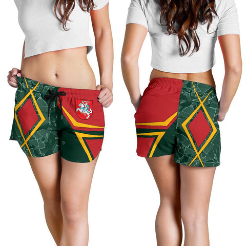 Image of Lithuania Women's Shorts - Lithuania Legend