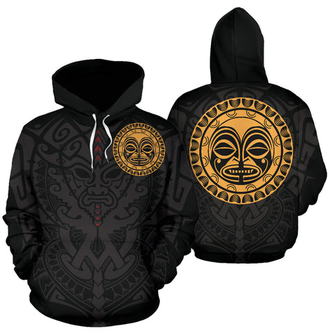 Polynesian Face™ All Over Hoodie 4 A7