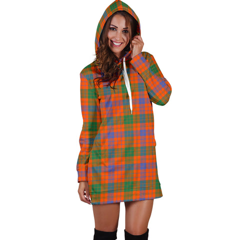 Ross Ancient Tartan Hoodie Dress HJ4