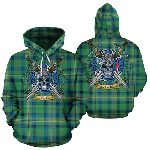 Image of Kennedy Ancient Tartan Hoodie Celtic Scottish Warrior A79 | Over 500 Tartans | Clothing | Apaprel