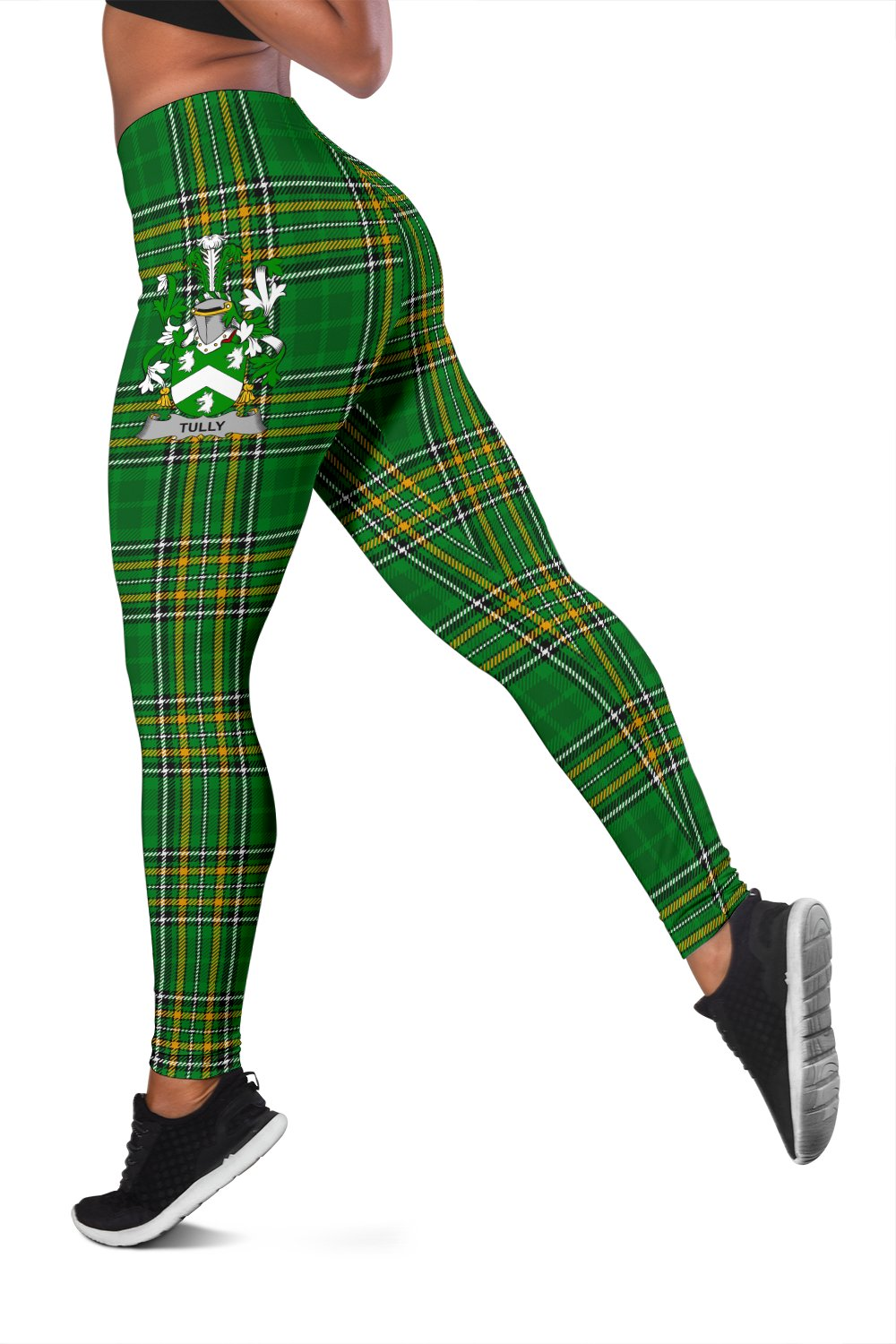 Tuly or McAtilla Ireland Leggings Irish National Tartan | Over 1400 Crests | Clothing | Pant