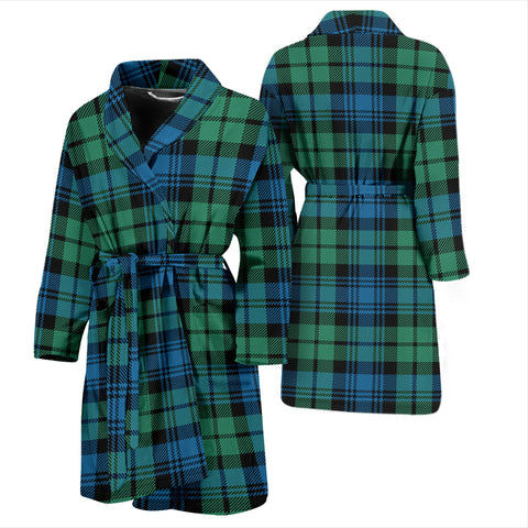 Campbell Ancient 01 Bathrobe - Men Tartan Plaid Bathrobe Universal Fit
