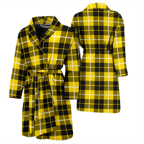 Barclay Dress Modern Bathrobe - Men Tartan Plaid Bathrobe Universal Fit