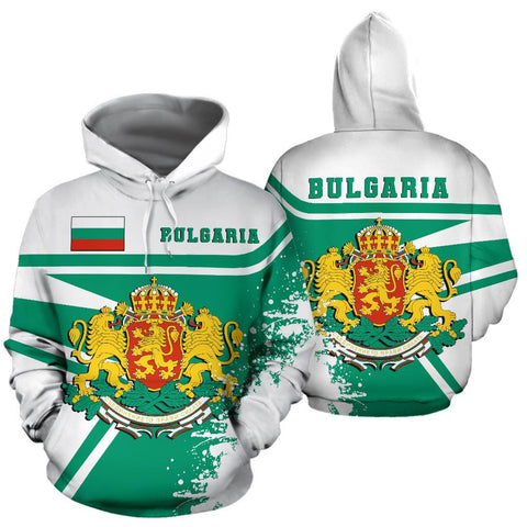 Image of Bulgaria Hoodie Painting Style Th52