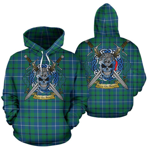 Image of Douglas Ancient Tartan Hoodie Celtic Scottish Warrior A79 | Over 500 Tartans | Clothing | Apaprel