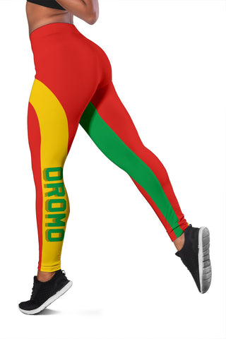 Oromo Flag Maps Leggings A31