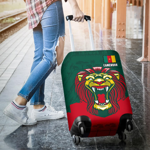Cameroon Luggage Covers Lion K4