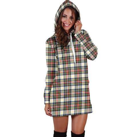 Stewart Dress Ancient Tartan Hoodie Dress HJ4