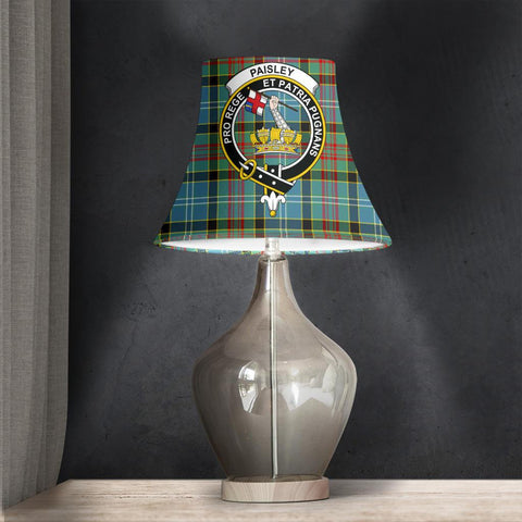 Paisley District Tartan Clan Crest Bell Lamp Shade HJ4