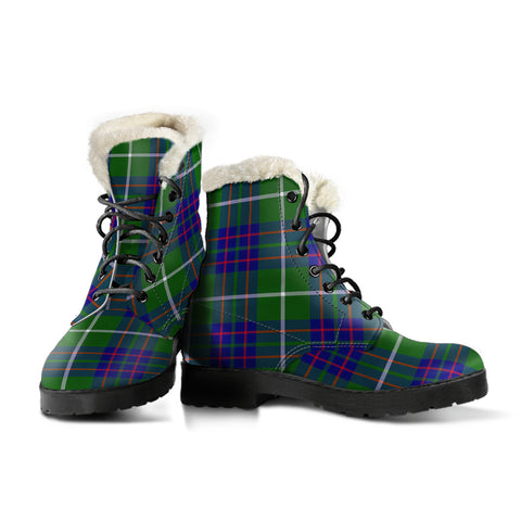 Image of Macintyre Hunting Modern Tartan Boots For Women