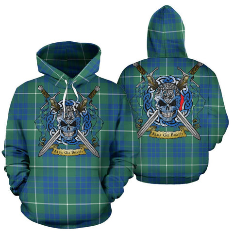 Image of Hamilton Hunting Ancient Tartan Hoodie Celtic Scottish Warrior A79 | Over 500 Tartans | Clothing | Apaprel