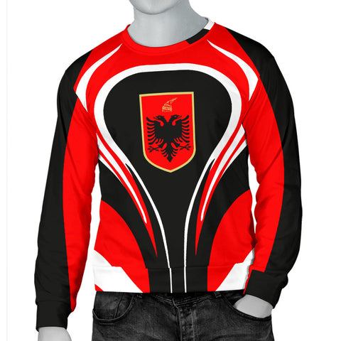 Albania Flag Men's Sweater Cannon Style