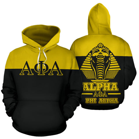 Alpha Phi Alpha All Over Hoodie - Sphinx - BN01