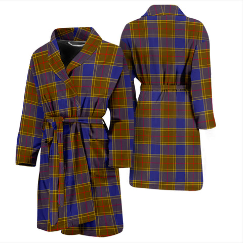 Balfour Modern Tartan Men's Bath Robe
