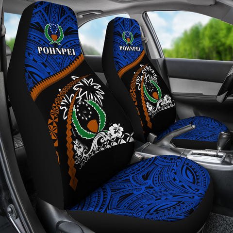 Pohnpei Car Seat Covers - Road to Hometown K4