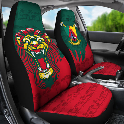 Image of Cameroon Car Seat Covers Lion K4
