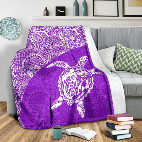 Hawaii Turtle Mermaid Premium Blanket 10 TH0