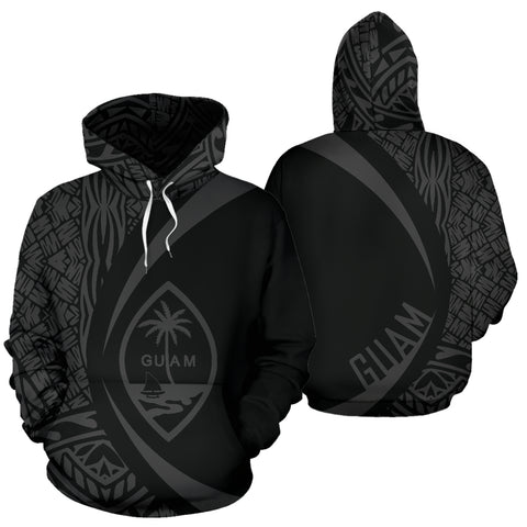 Image of Guam Polynesian Hoodie - Circle Style J1