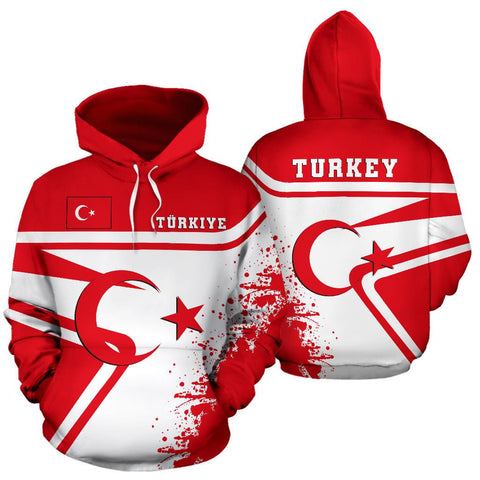 Turkey Hoodie Painting Style Th52