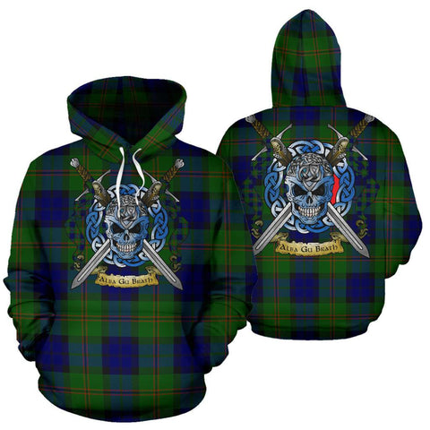 Dundas Modern Tartan Hoodie Celtic Scottish Warrior A79 | Over 500 Tartans | Clothing | Apaprel