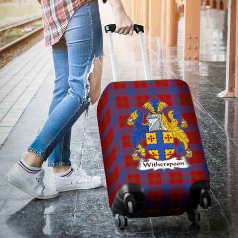 Witherspoon Tartan Clan Badge Luggage Cover Hj4 | Love The World