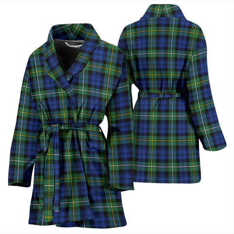 Campbell Argyll Ancient Bathrobe - Women Tartan Plaid Bathrobe Universal Fit