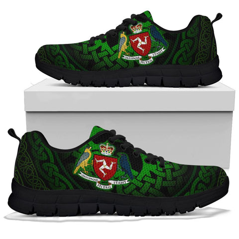 Celtic Sneakers - Isle of Man Celtic Coat of Arms
