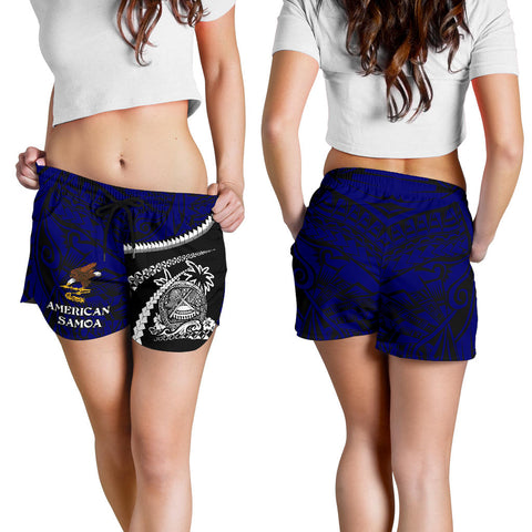 American Samoa Women's Shorts - Road to Hometown K4