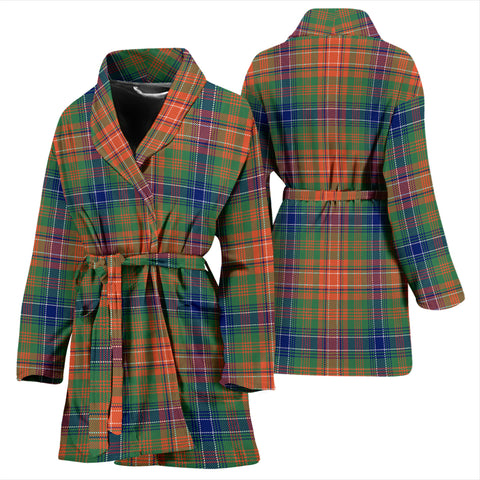 Wilson Ancient Tartan Women's Bath Robe - BN03