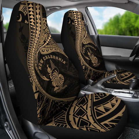 Image of New Caledonia Car Seat Covers Kanaloa Tatau Gen NC (Gold) TH65