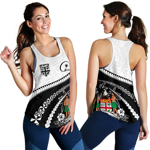 Fiji Women Racerback Tank - Road to Hometown K4